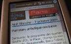 Nuit Blanche en blog et mobile