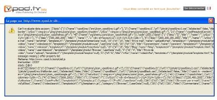L'excès d'AJAX est mauvais pour le Web 2.0