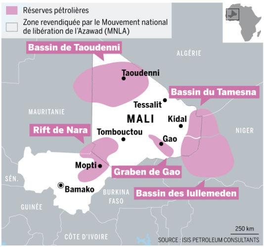 Scoop : il y aurait du pétrole au Mali