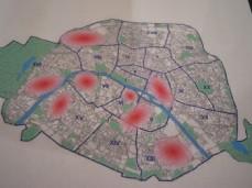 Carte de déploiement Orange FTTH