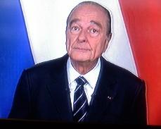 Chirac tire sa révérence