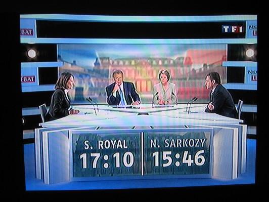 Ségo / Sarko : Des chiffres et des lettres...