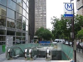 Une nouvelle station de métro