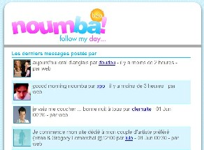 Noumba.com : un nouveau service de microblogging