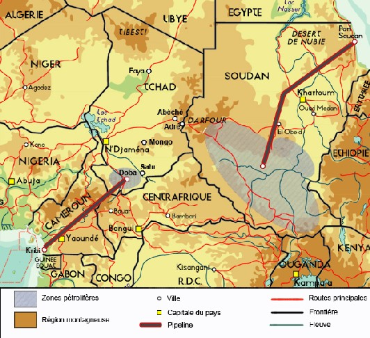 Soudan, Darfour, Pétrole, Génocide, ...