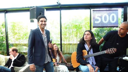 Tariq fait sa fête à la musique