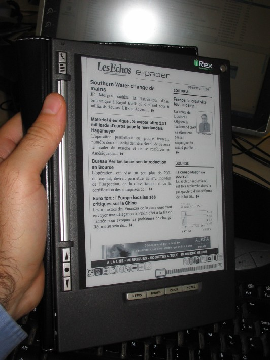 Passage au e-book / e-paper