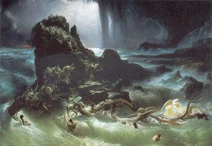 La Mer noire créée par le Déluge