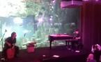 Soirée Yahoo dans un aquarium