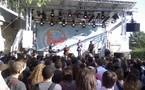 Concert Daphné à Paris Plage
